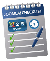 joomla25 upgrade checklist